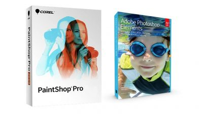 Paint Shop Pro VS Photoshop Elements